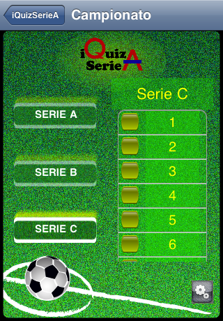 Screenshot iQuizSerieA