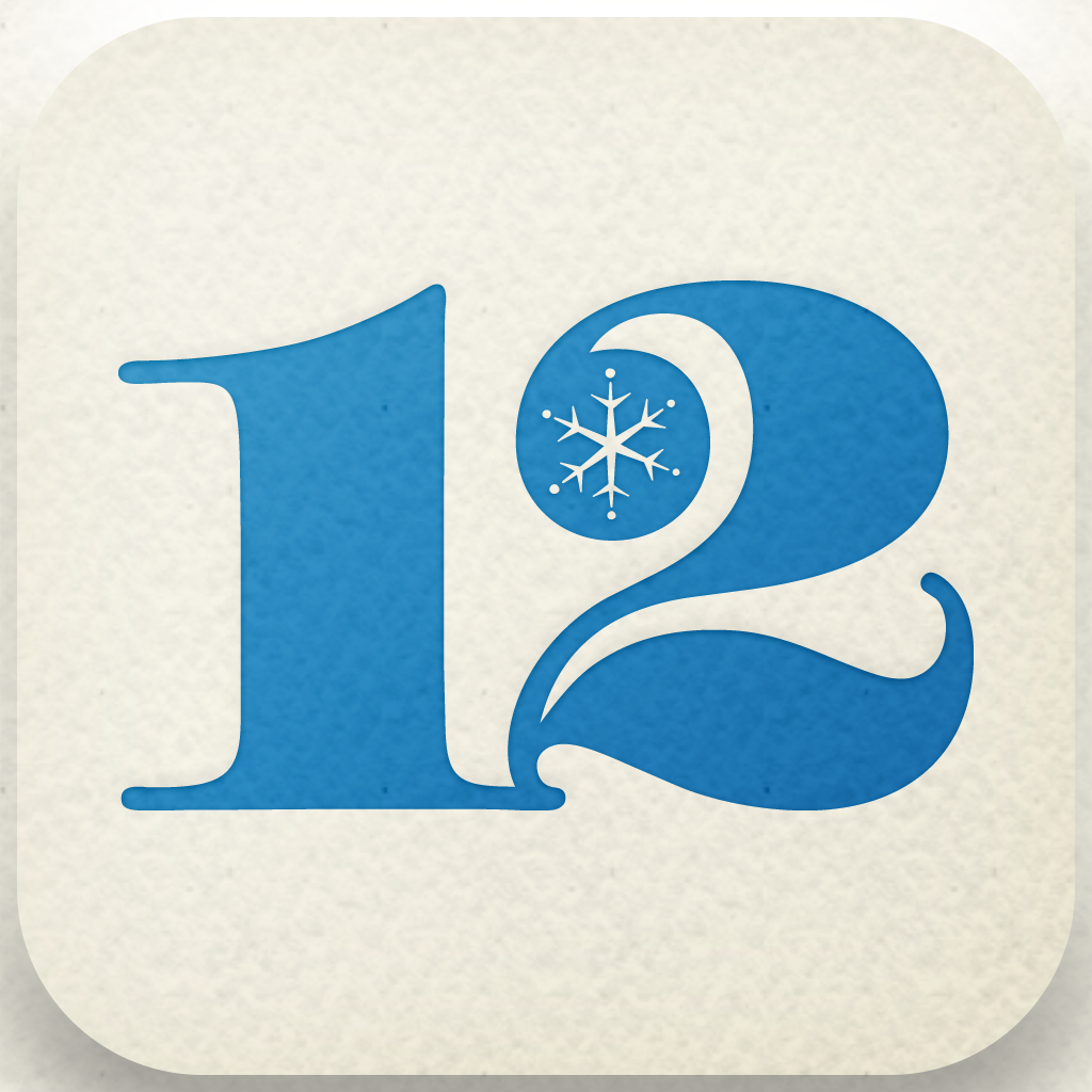 12 giorni di regali iTunes (AppStore Link)